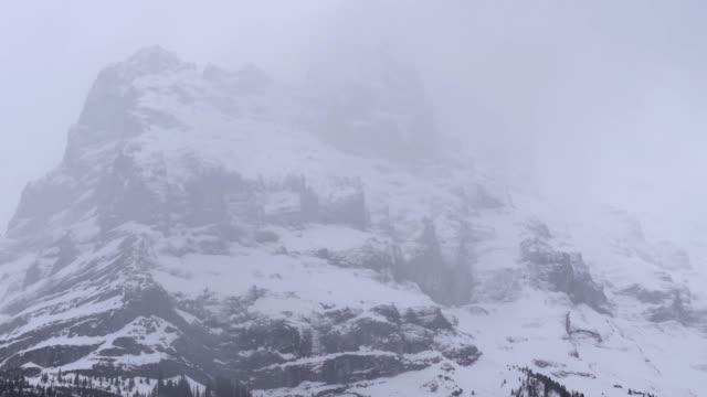 4k snow berg landskap schweitz - grindelwald bildbanksvideor och videomaterial från bakom kulisserna