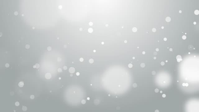 4k Soft White Bokeh Animation Background Seamless Loop. video