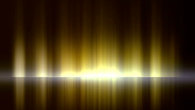 4k stage abstract background. seamless loop - stock video - riflettore lenticolare video stock e b–roll