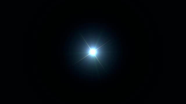 vídeos de stock e filmes b-roll de 4k star - glow