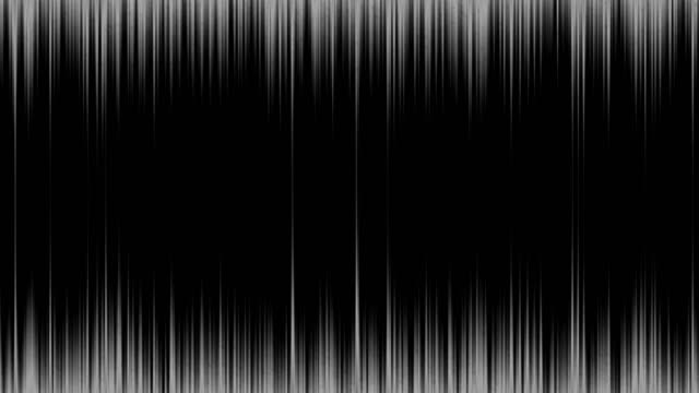 4k Stroke Background Animation Seamless Loop. Black and White Color. video