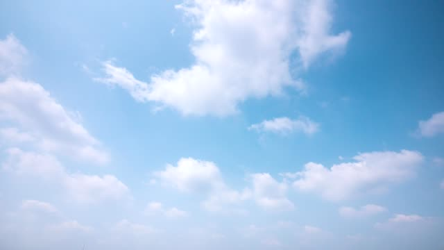 4k time lapse clear sky background