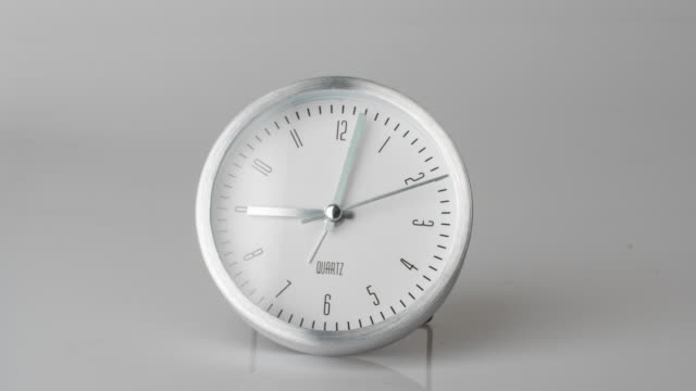 4k Time lapse clock in business concept