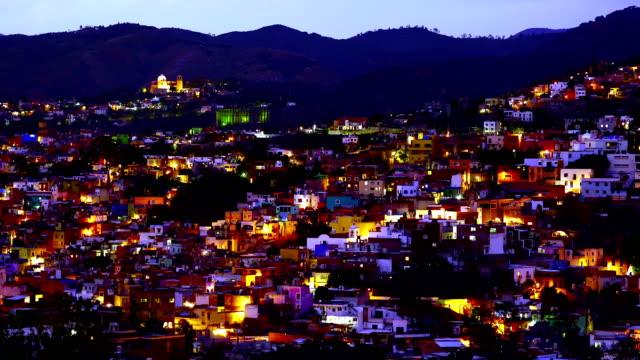 stockvideo's en b-roll-footage met 4 k-tijd-tijdspanne: stad van guanajuato - nieuwe testament