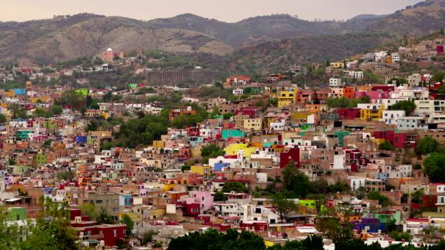 vidéos et rushes de 4 k time-lapse: guanajuato, mexique - 2018