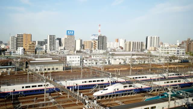 鉄道で 4 k 東京シティー ビュー - 列車点の映像素材/bロール