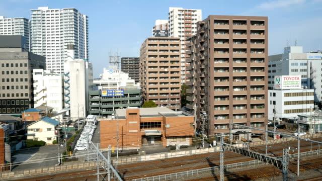 鉄道で 4 k 東京シティー ビュー ビデオ