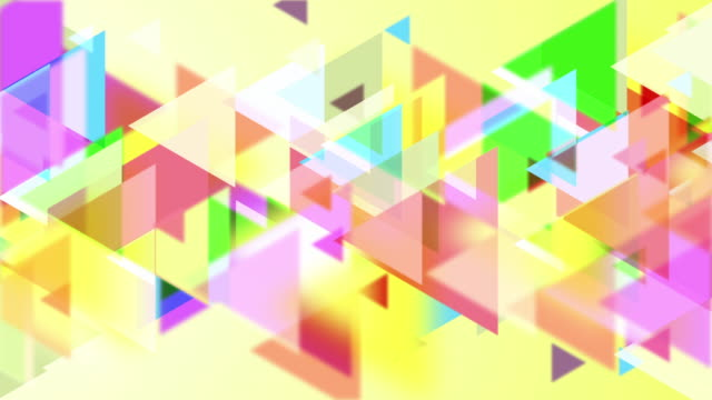 4k Triangles Abstract Background Animation video