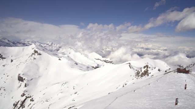 4k utsikt över jungfraujoch, schweiz - grindelwald bildbanksvideor och videomaterial från bakom kulisserna