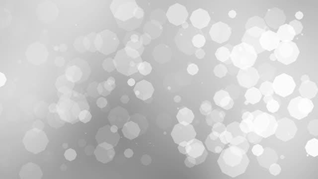 4k White Clean Bokeh Background Animation Seamless Loop. video