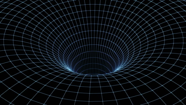 4k wormhole, speed tunnel warp. Travel in space, travel in time. 3d animation video