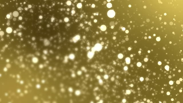 4k yellow bokeh abstract light backgrounds video