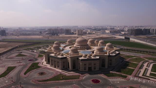 4KAerial shot Sharjah