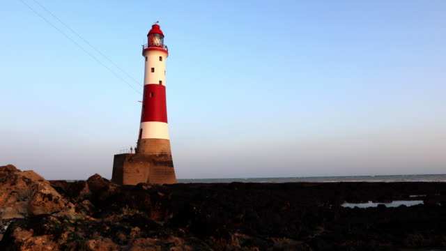 4K:Beachy Head Lighthouse at Sunset