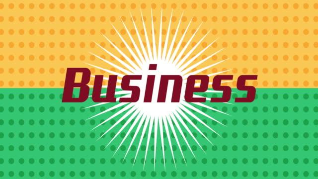 4k:Bomb exploding bubble business video