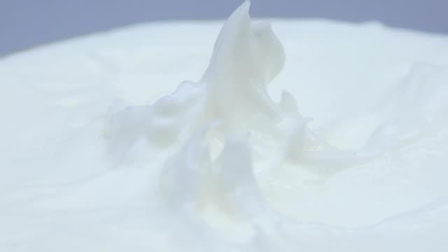 4K,Closeup shot of cosmetics cream with rotate video