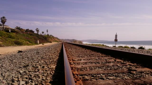 4k-custom-train tracks video
