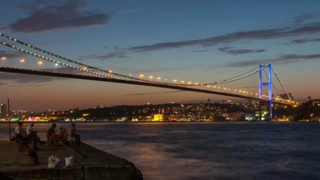 4 k: istanbul, turchia *time lapse **** - istanbul video stock e b–roll