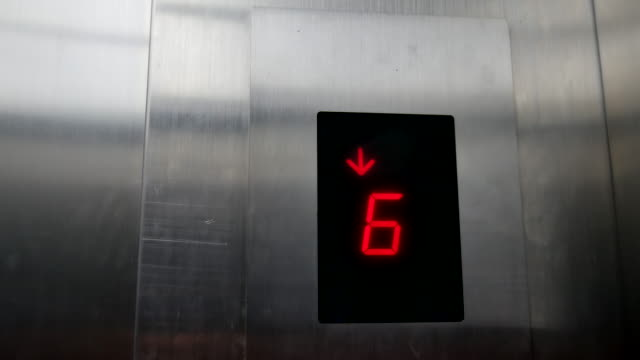 Royalty free empty elevator hd video 4k stock footage b roll istock 4kled display in an elevator video thecheapjerseys Images