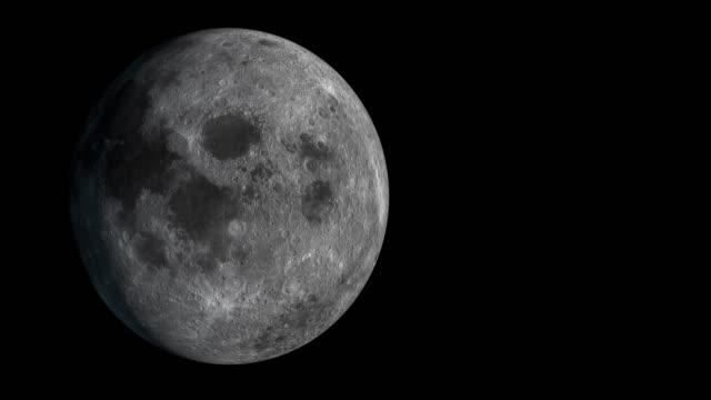 4k:moon - mond stock-videos und b-roll-filmmaterial