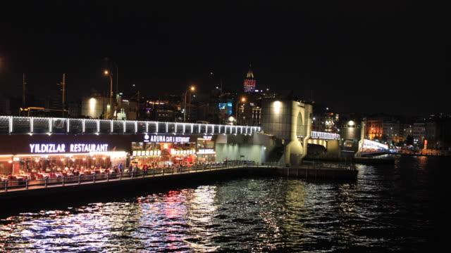 4K:People on the Galata Bridge