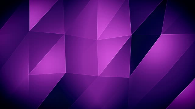 4K-Purple Triangle waves Background video
