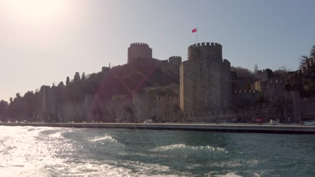 4K:Rumeli Fortress, Istanbul, TURKEY