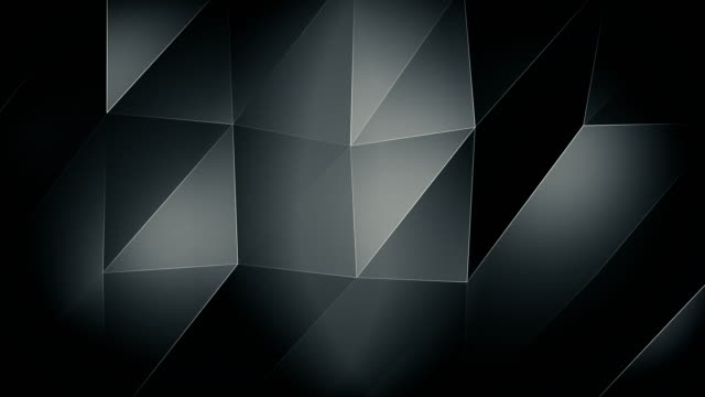 4K-Silver Triangle waves Background video