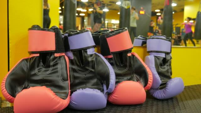 4K:Thai Boxing training background