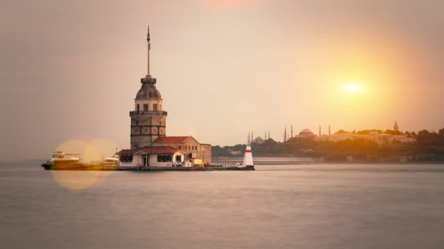4K:The Maiden's Tower **Time Lapse** video