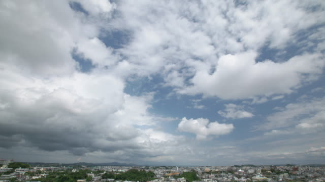 4K,Time lapse shot of Sky and city. video