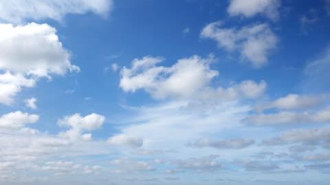 vídeos y material grabado en eventos de stock de 4k: timelapse del cielo despejado - nube