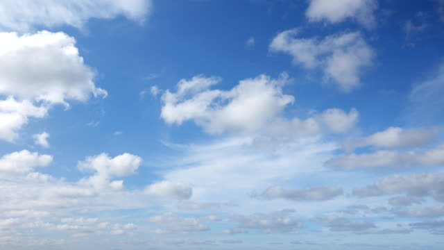 4K:Timelapse of the clear sky Video of Beautiful Universally Cloudscape background, Time lapse. 4K(UHD) 3840x2160 format. skies stock videos & royalty-free footage