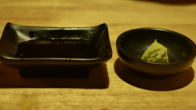 4k:tuna Sashimi video