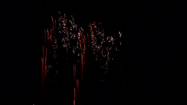 4th of July Fireworks show in slow motion video