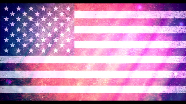 4th of july usa flag - fourth of july стоковые видео и кадры b-roll