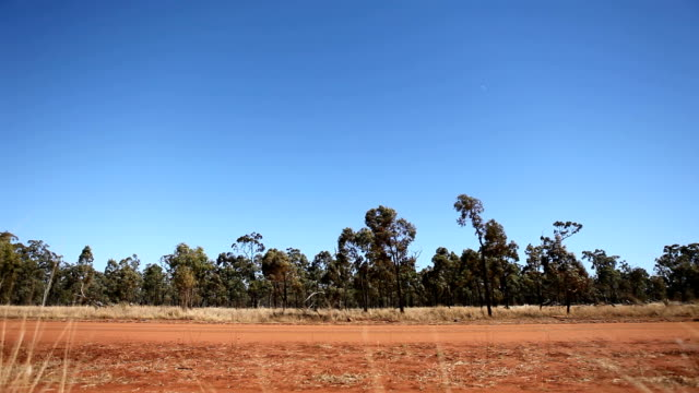 4wd driving in the australian outback. HD video