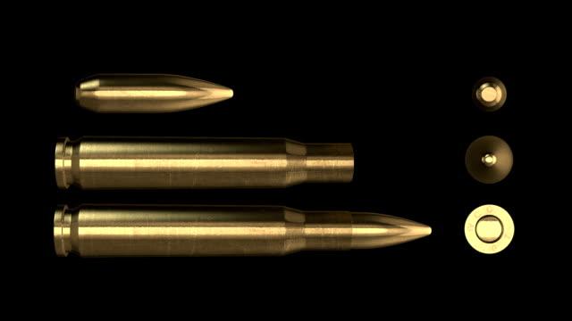 50mm Bullet . Luma matte video