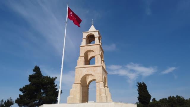 57th Infantry Regiment Martyrdom Gallipoli Peninsula, Canakkale Province, Turkey çanakkale province stock videos & royalty-free footage