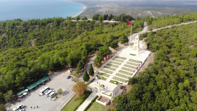 57th Infantry Regiment 57th Infantry Regiment - Turkish memorial and cementery. The 57th Infantry Regiment was a regiment of the Ottoman Army during World War I. çanakkale province stock videos & royalty-free footage