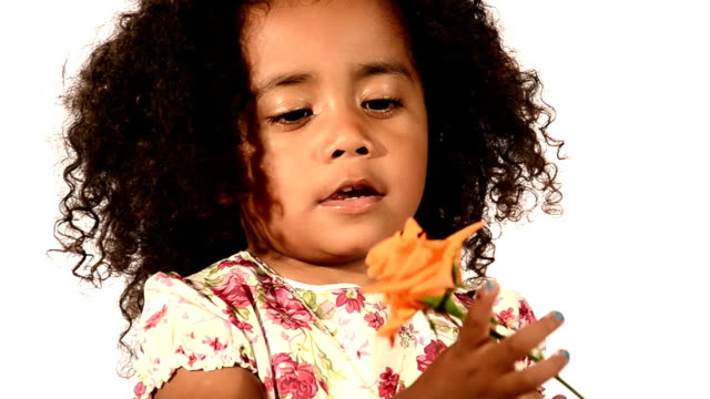a brazilian child and a rose video