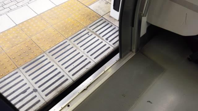 a Door Closing