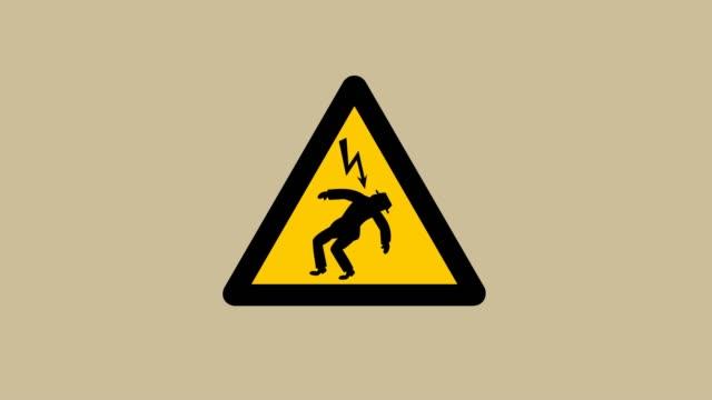 vídeos y material grabado en eventos de stock de un hombre se electrocuta - animación - descarga eléctrica