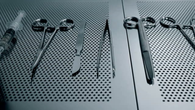 a surgical instrument is ready for operation a surgical instrument is ready for operation FullHD surgical equipment stock videos & royalty-free footage