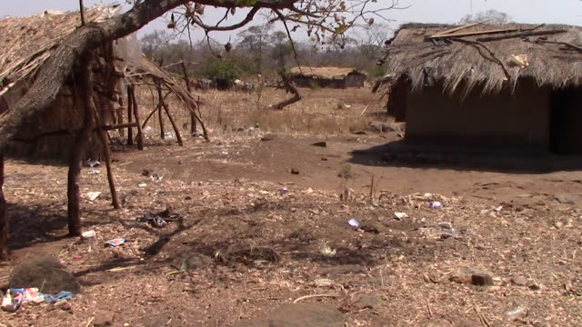 Abandoned African Village video