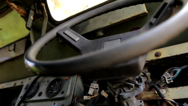 Abandoned Car Dolly shot. video