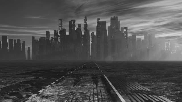 vídeos de stock e filmes b-roll de abandoned city - apocalipse
