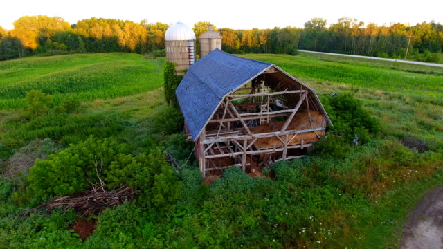 Abandoned family farm video