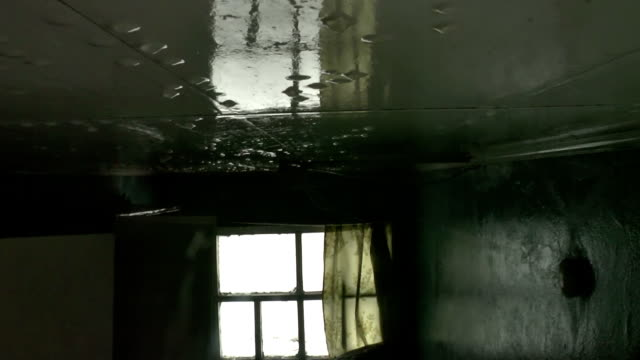 Abandoned house 18. Rain in the Room video