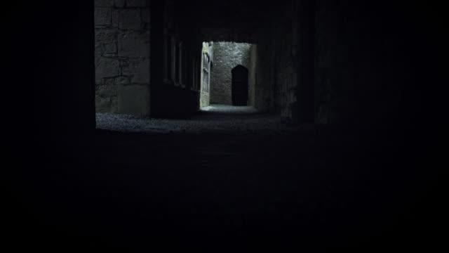 4K Abandoned House Castle Ruins video